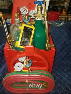 NEW Professional Portable Oxygen Acetylene Oxy Welding Cutting Weld Torch Tank