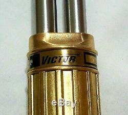 NEW VICTOR ST2600FC Straight Cutting Torch & Tip 21 Demolition Scrap 0381-1480