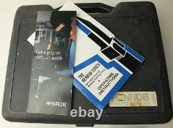 NOS Henrob Torch 2000 Welding & Cutting Tool Kit in Case Oxy-Acetylene USA