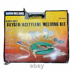(New) Olsen Heavy Duty Oxygen/Acetylene Cutting, Welding Torch Kit