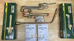 New Victor Journeyman Cutting Welding Torch Set CA2460+, 315FC+, Rosebud And Tips