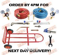 Oxy/ Acetylene Portable Lightweight Welding & Cutting Set Gas Torch Cutter Kit