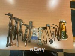 Oxy Acetylene Torch (with tank cart, hoses, regulator, & cutting/welding)