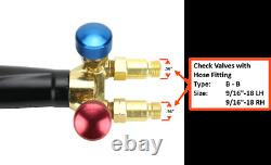 Oxy-Fuel Torch Apollo with Check Valves+Cutting Tip+Welding Tip+Heating Tip -Ace