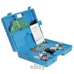 Oxygen & Acetylene Gas Cutting Torch and Welding Kit Portable Oxy Brazing Welde