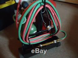 Oxygen Acetylene Oxy Welding Cutting Torch Kit with cart