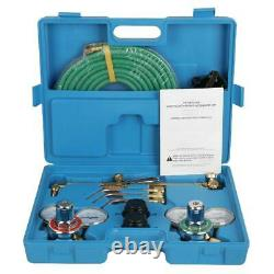Oxygen Acetylene Weld Welding Cutting Torch Kit With Gauges & Goggles & Hoses NEW