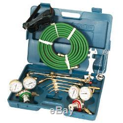 Oxygen Acetylene Welding Cutting Kit Victor Type Torch Brazing Soldering Oxy Kit