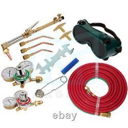 Oxygen Acetylene Welding Cutting Torch Kit Tool Gas Welding Kit