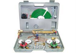 Oxygen Acetylene Welding Kit Harris Type Cutting Torch Welding Hose Goggles