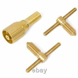 Oxygen Acetylene Welding Kit Type Cutting Torch Welding Hose Goggles Tool + Case