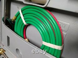 Oxygen Acetylene Welding Kit Type Cutting Torch Welding with Hose Goggle + Case