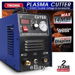 PLASMA CUTTER 50A 110V/220V HF start CUT50 Protable torch Consumables Hot Sales