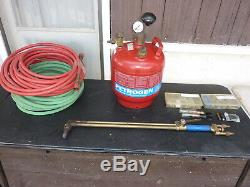 Petrogen Welding, Cutting System, With Tank, Torch, Hoses, Kits, And More Very Nice