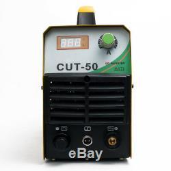 Plasma Cutter 50A Cutting Max 12mm Thickness With PT31 Welding Gun Torch Welder
