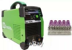 Plasma Cutter IGBT 50 Cons Simadre 50Ri 50A 110/220V 1/2 Clean Cut Power Torch