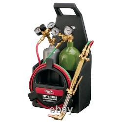Port A Torch Kit Oxygen Acetylene Tank Hose Power Tool Cutting Welding Brazing