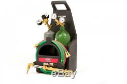 Port-A-Torch Kit with Oxygen and amp Acetylene Tanks for Cutting Welding