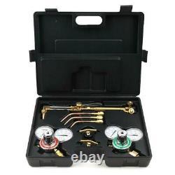 Portable Oxygen Acetylene Welding Cutting Kit Torch Brazing Soldering Oxy Kit