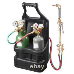 Portable Pro Weld Tank Torch Kit Welding Brazing Cutting Outfit Torch Tool Kit
