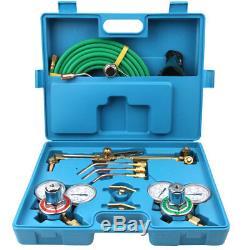 Portable Professional Welding Cutting Oxygen Torch Acetylene Welder Tool Case