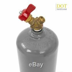 Portable twin tote Oxygen Acetylene Oxy gas Welding Cutting Weld Torch Tank DOT