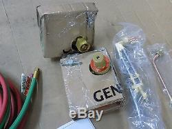 Pro Oxygen and Acetylene Torch Kit 1/2 Cutting Cap 3/16 Welding Cap 64629124