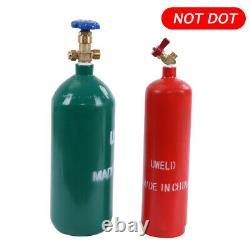 Professional Portable Oxygen Acetylene Oxy Welding Cutting Weld Torch Tank Kit