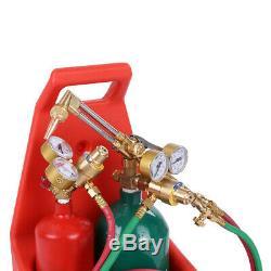 Professional Portable Oxygen Acetylene Oxy Welding Cutting Weld Torch Tank Set