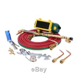 Professional Tote Oxygen Acetylene Oxy Welding Cutting Torch Kit Set With tank