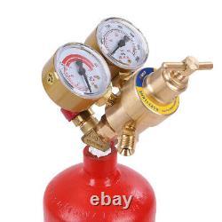 Professional Tote Oxygen Acetylene Oxy Welding Cutting Torch Kit W tank No DOT