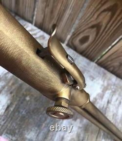 Purox Vintage Brass Unused Oxy Acetylene Cutting Torch Type F Welding E 75° NOS