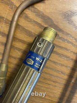 Purox Welding/Cutting Torch Set CW-275, CGA 510 & 540 Regulators, #30 & #6 Tips