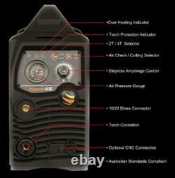 Razor Cut 45 Plasma Cutter Inverter Sc80 Torch Razorcut Unimig Welding Kupjrrw45