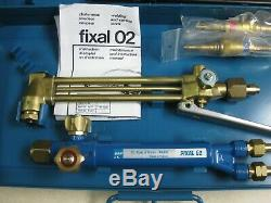 SAF Fixal 02 Oxy/Acet Welding and Cutting Torch Set Oxygen Acetylene