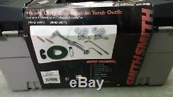 SMITH HD-510T Oxygen Acetylene Oxy Welding Cutting Torch Kit