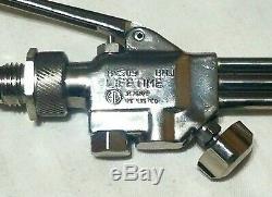 SMITH LIFETIME CUTTING WELDING TORCH SET MC509 Attachment WH100 Handle MC12-1