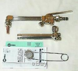 SMITH MILLER Cutting Welding Torch Set CC509 Attachment CW5A Handle MC12-2 Tip