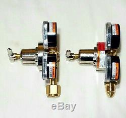 SMITH MILLER Regulator Set Cutting Welding Torch 30-100 Oxygen 30-15 Acetylene