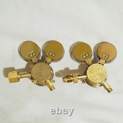 SMITH Regulator Set H1710B Oxygen H1720B Acetylene Cutting Welding Torch Miller