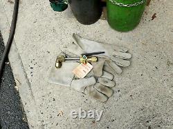 Sears Craftsman PORTABLE OXYGEN ACETYLENE OXY WELDING CUTTING TANK TORCH KIT