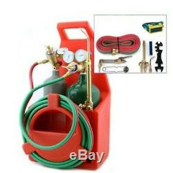 Stark Portable Victor Type Cutting torch welding kit Oxygen Acetylene & carrier