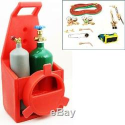 Stark Portable Victor Type Welding Cutting Torch Kit Oxygen Acetylene Tote Car