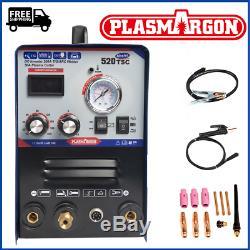 TIG/MMA/CUT Welder Welding Machine Torches Plasma Cutter 50AMP & Foot Pedal