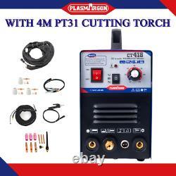 TIG/MMA/CUT Welding Machine CT418 Argon Welder Plasma Cutter & 4m Cut torch Pt31