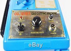 Techtongda Torch Track Burner Portable Straight Line Gas Cutting Machine CG1-30