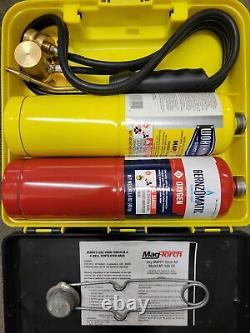 The Mag-Torch Oxy-MAPP MT585OX Brazing Cutting Welding Torch Kit
