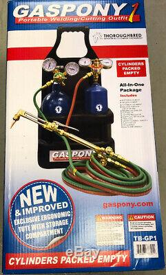 Thoroughbred GASPONY1 Portable Welding/Cutting Torch Outfit TB-GP1