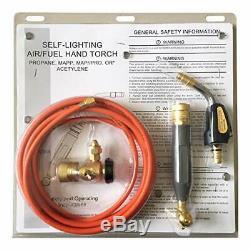 Torch Kit Swirl for MC tank Air Acetylene MC (CGA 200) Gas Welding Cutting Kits