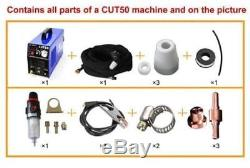 Tosense Inverter Plasma Torch Cutting Machine CUT50 110/220V Dual Voltage